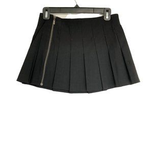 Guess Jeans Black Pleated Mini Skirt